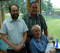 Four Generations of Phelan Males.... Oh my God!!!