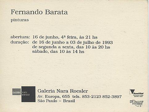 Galeria Nara Roesler - São Paulo