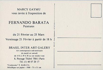 invitation, verso