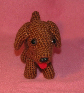 Free Crochet Pattern - Dachshund Handbag from the Purses and bags