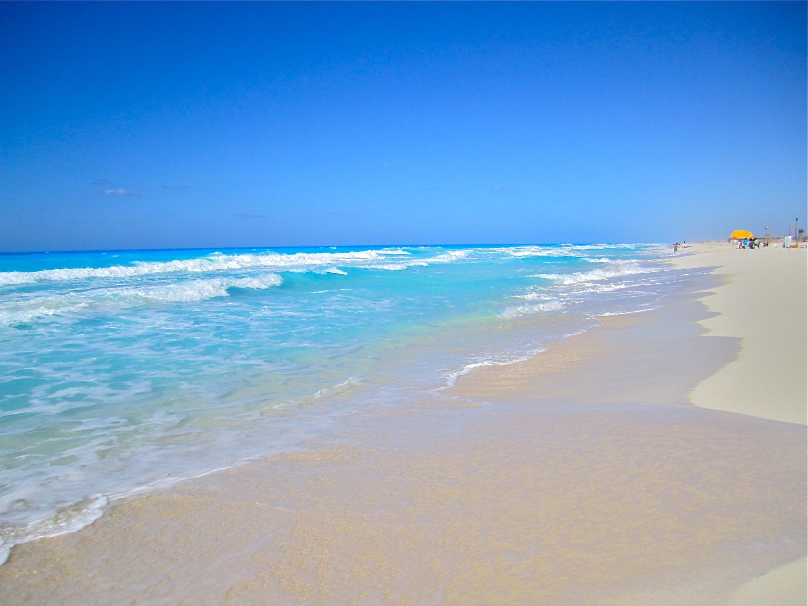 Зимнее море в Египте