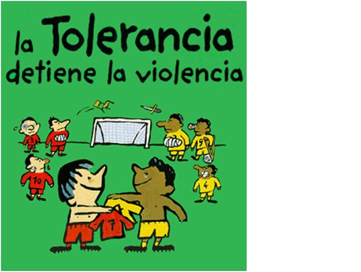Un dibujo sobre la tolerancia - Imagui