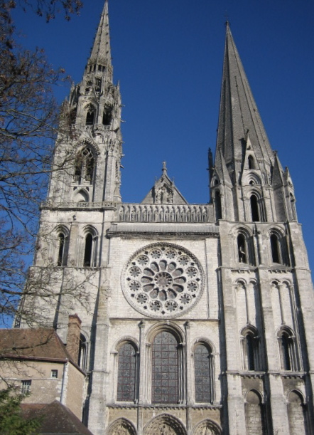 [chartres+cathedral]
