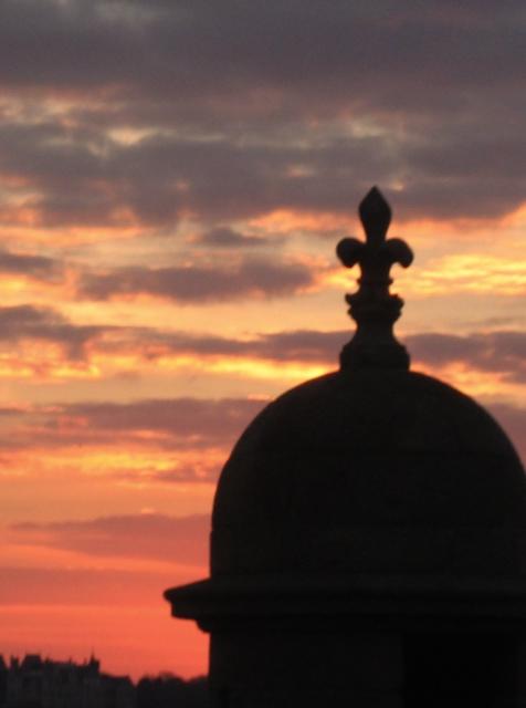 [St+Malo+at+sunset]