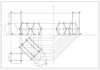 Disegno proiezioni ortogonali di due solidi for Disegni base della cabina