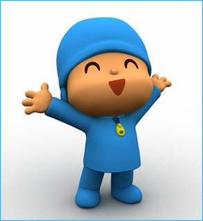 pocoyo riendose