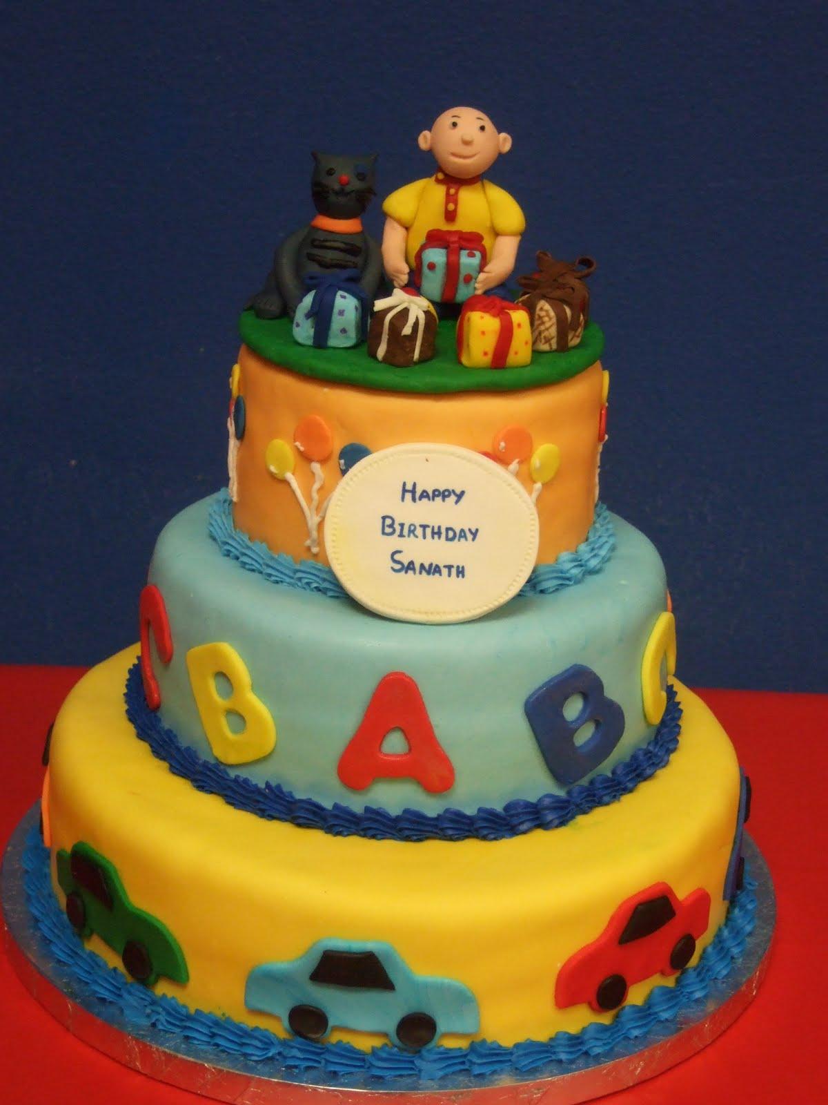 calliou cake