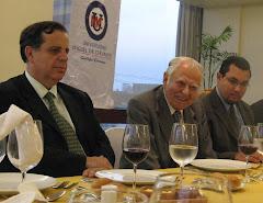 Cena con Don Patricio Aylwin Ex Presidente de Chile
