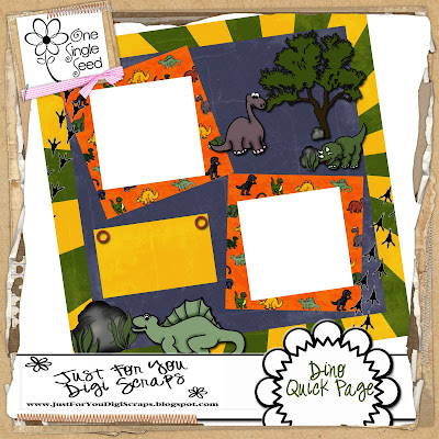 http://justforyoudigiscraps.blogspot.com/2009/04/dino-quick-pages.html