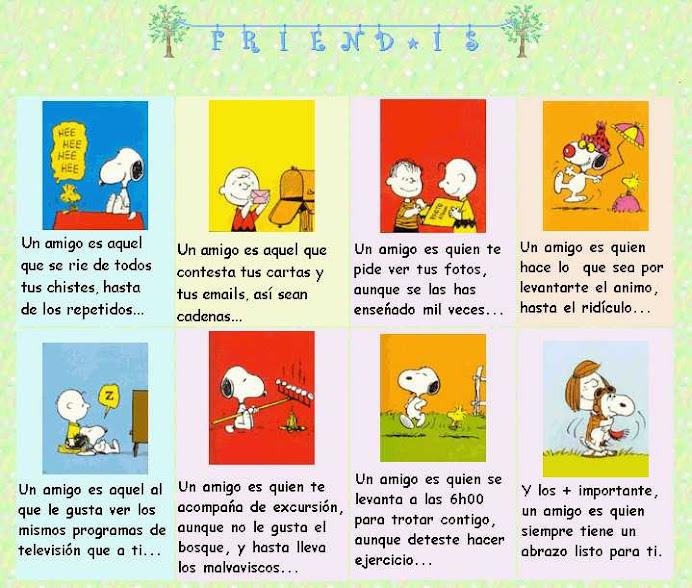 ¿Qué es un amigo?