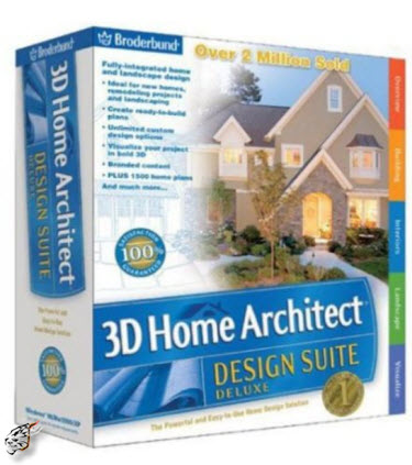 Home Design Software on Softwares 24 By 7  3d Home Architect Design Suite Deluxe V8 0