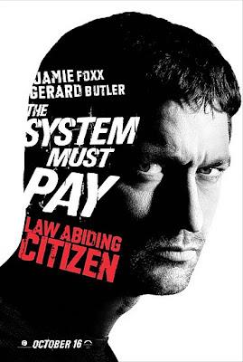 law butler - 'Law Abiding Citizen', primeros carteles