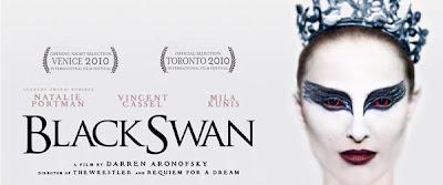 black swan title banner - El cisne negro (Black Swan), se anota 12 nominaciones para los Critics Choise.