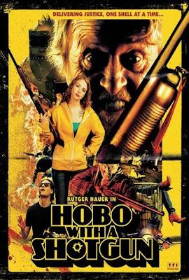 """hobo with a shotgun poster 2 - Tráiler y póster de """"Hobo with a Shotgun"""""""