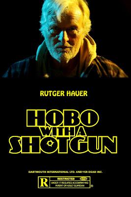 """hobo with a shotgun poster 1 - Tráiler y póster de """"Hobo with a Shotgun"""""""