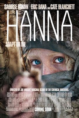 hannaposter - Hanna, la nueva pelicula de Joe Wright, póster, trailer y sinopsis oficial.