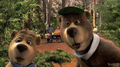 ciudades - El oso Yougi, solo para niños.