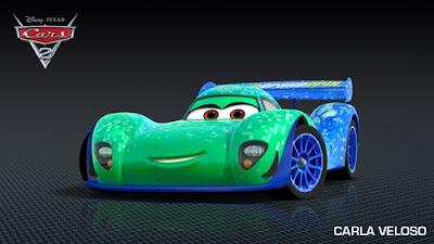 imagen galeriacars carlaveloso - Los nuevos personaje de Cars 2