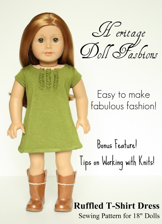 Heritage Doll Fashions: Sewing Patterns
