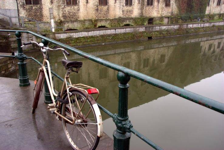 Canal à Gand (Gent)