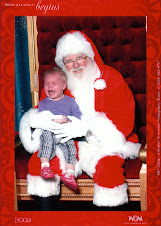 Taylor does not seem to like Santa Claus...