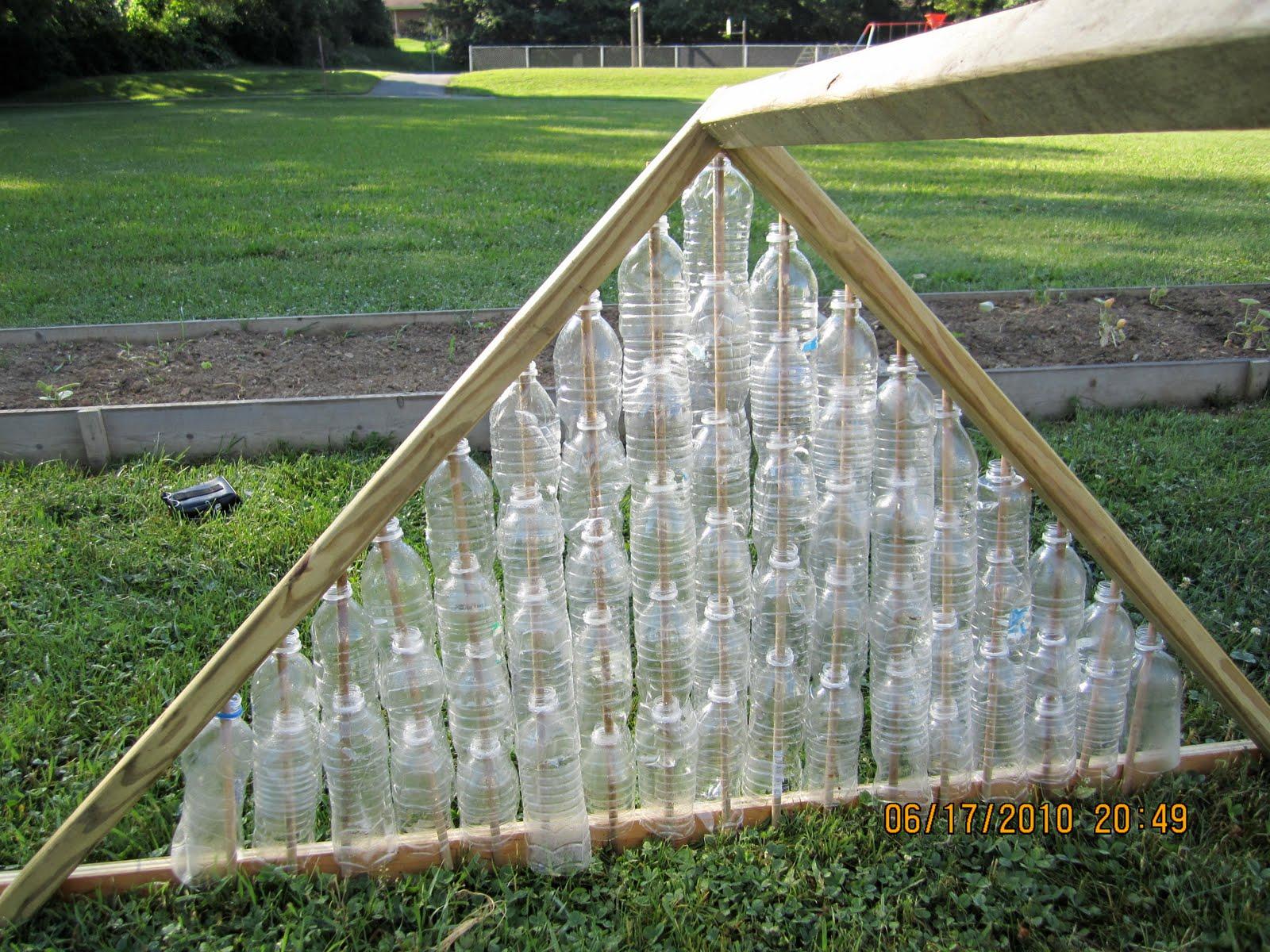 Пирамида из поликарбоната своими руками