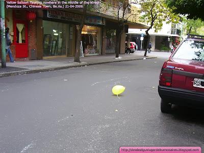 El globo amarillo