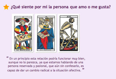 El Tarot y este amor...