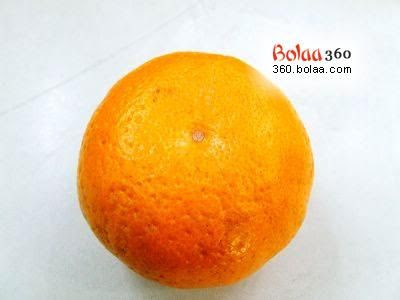 Orange Fruit Drawing. Creative Art in Orange Fruit