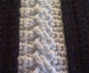 Beginner Crochet Patterns: Crochet Cable Columns