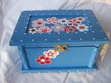 Wooden friendship/memory boxes