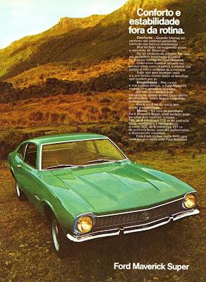 Folder do Ford Maverick Super 1973
