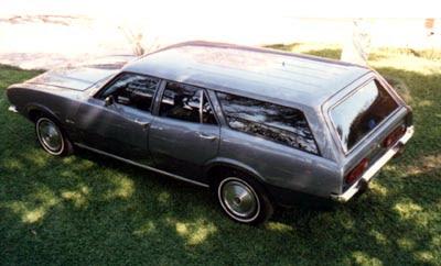 Perua Maverick com quatro portas, produzida entre 1978 e 1979
