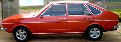 Passat 1975 Quatro portas com motor AP 1600