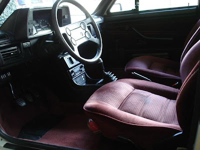 Interior do Passat Iraquiano 1987