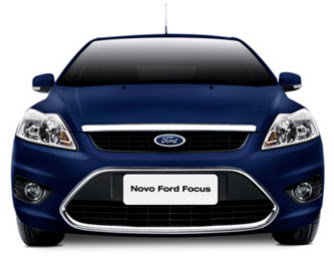 Frente do Novo Ford Focus