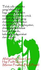 AMANAT ALLAHYARHAM TN. GURU FADHIL NOOR