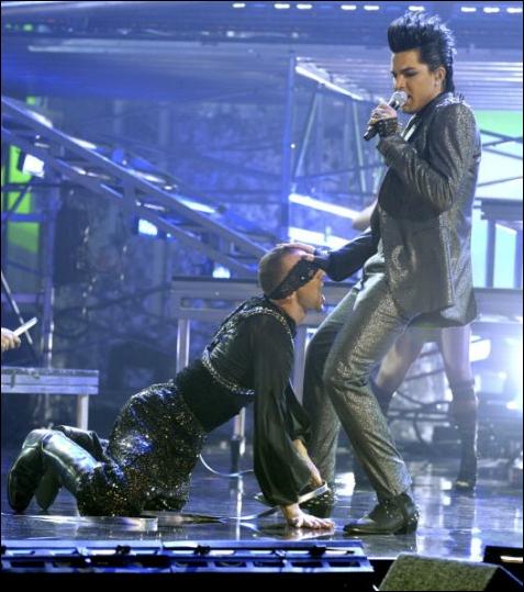 Adam Lambert's Cock Shock! PerezHiltoncom