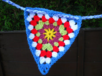 Colouful Crochet Bunting