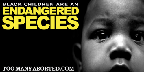 Black+Kids+Endangered+Species+Billboard EUGENICS