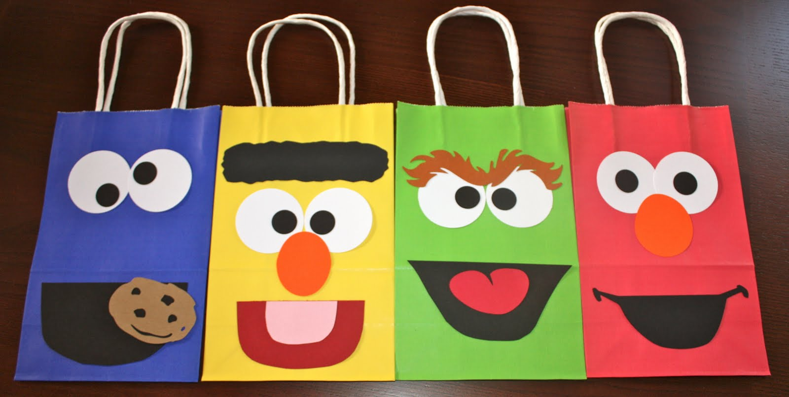 Buggys Basement Sesame Street Goodie Bags - Children's birthday goodie bags