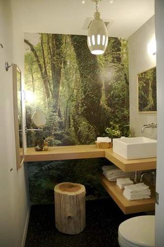 Coisinhas outras abril 2010 for Small tropical bathroom design