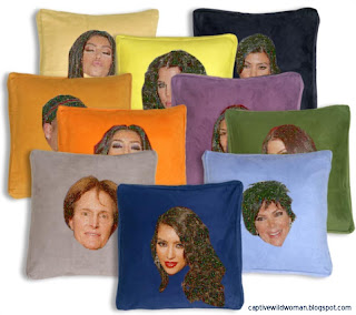 Kardashian Throw Pillows