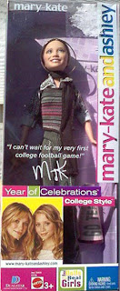 MaryKateandAshley Year of Celebrations doll--college style