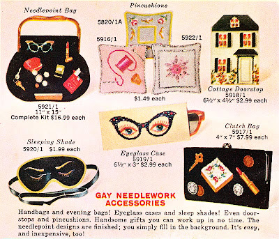 gay needlework ad - 1959-60