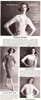 Dritz fashions ad - 1959-60
