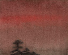 """Pines at Sunset"""