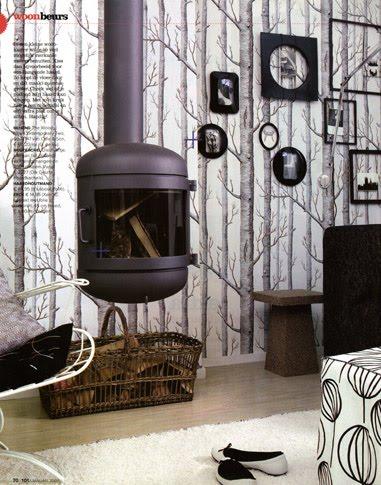 high heeled foot in the door diy cole sons woods wallpaper