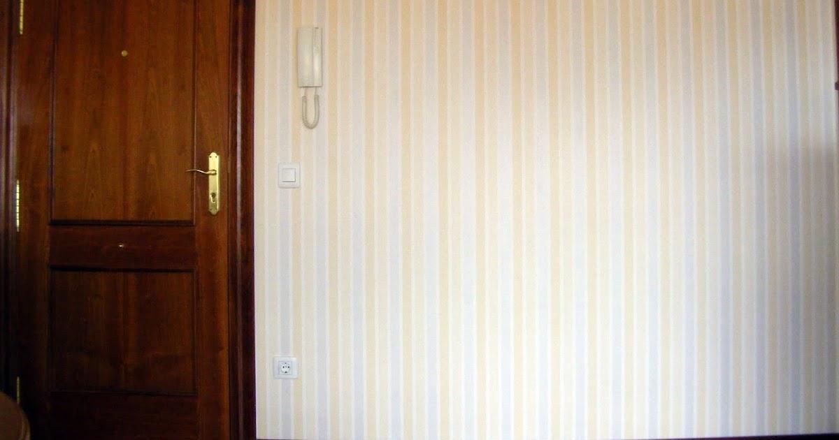 Ambar pintura y murales recibidor con papel pintado y pintura - Habitaciones con papel pintado y pintura ...