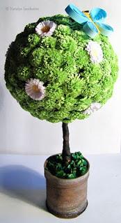 мастер класс квиллинг quilling торцевание дерево счастья